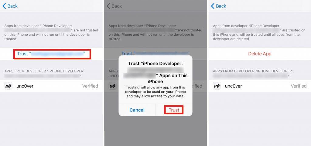 Trust Jailbreak Tool-Google Play Store for iOS