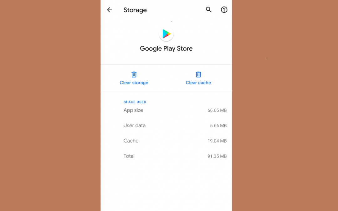How to Clear Cache on Google Play Store