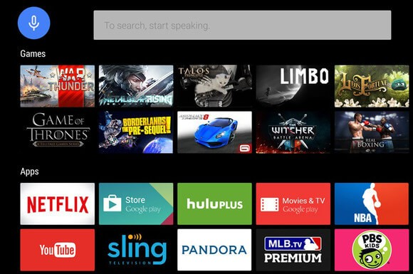 Search for Apps on Google Play Store for Android TV